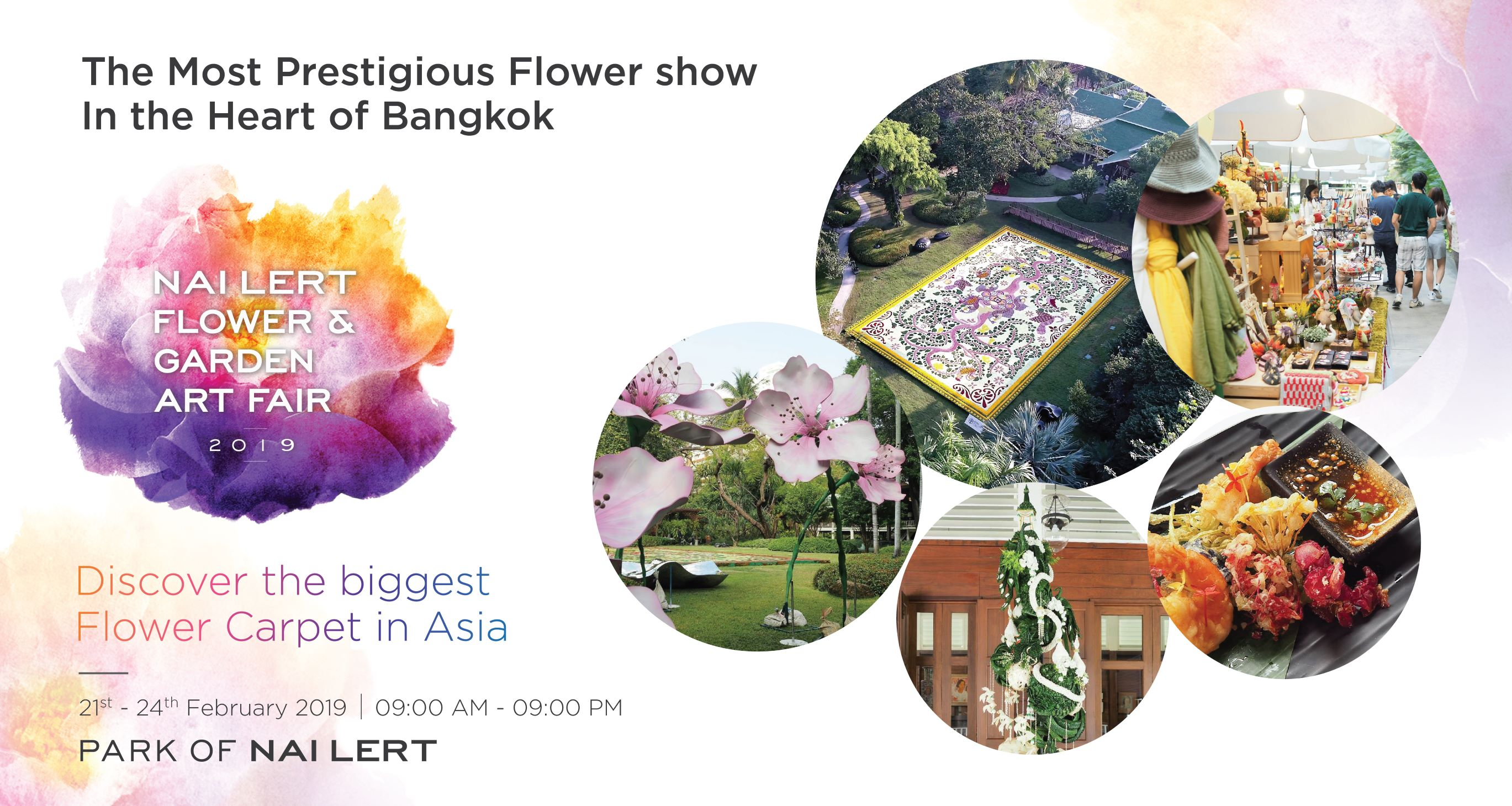 Nai Lert Flower & Garden Art Fair